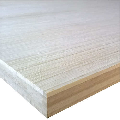 Bambus vareprøve på bordplade