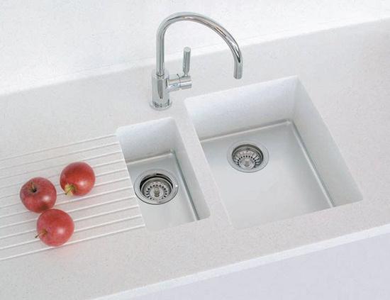 Usædvanlig Corian vaske til køkken og bad - Vask til Corian bordplade UJ51