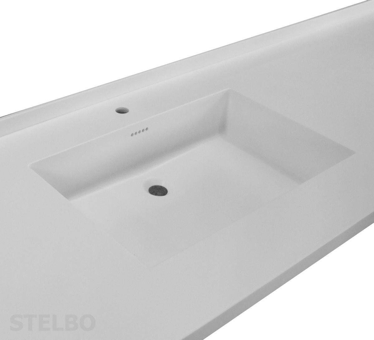 bordplade med vask til badeværelse Corian vaske til køkken og bad   Vask til Corian bordplade bordplade med vask til badeværelse