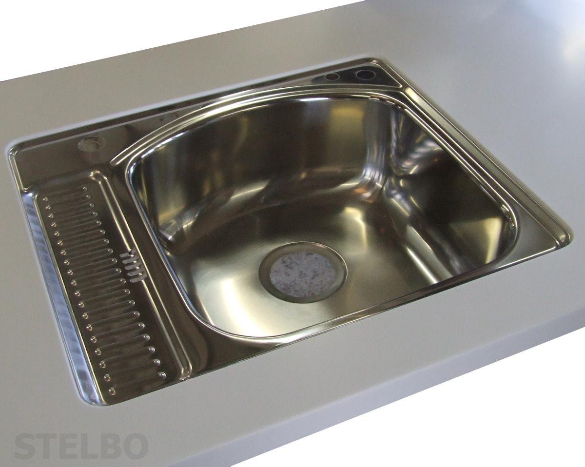 Udestående Corian vaske til køkken og bad - Vask til Corian bordplade OF72